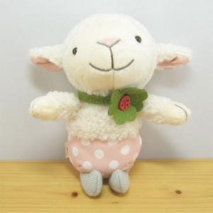 童心 goodLuck(グッドラック) ぬいぐるみSサイズ ヒツジのワルツ ひつじ ぬいぐるみ 雑貨 グッズ 羊|zakka-fleur