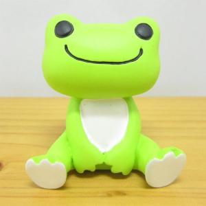 かえるのピクルス フィギュアシリーズ ピクルス フィギュア 座り カエルのピクルス 雑貨 オブジェ 置物 カエル雑貨|zakka-fleur