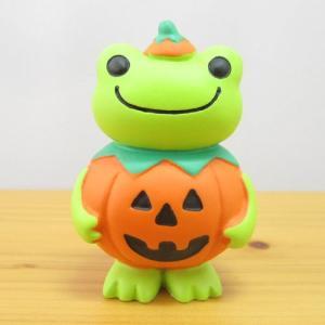 かえるのピクルス フィギュアシリーズ コンコンブル×ピクルス フィギュア かぼちゃ カエルのピクルス 雑貨 オブジェ 置物 カエル雑貨|zakka-fleur