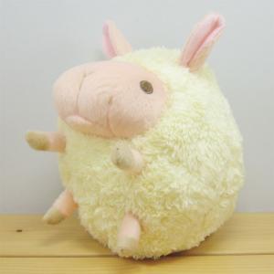 ひつじ ぬいぐるみ まんまるbaby nature(ベイビーナチュレ) ひつじ(イエロー) Mサイズ 羊 ヒツジ グッズ 雑貨|zakka-fleur