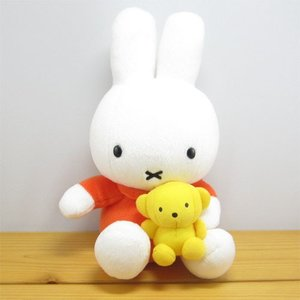 ミッフィー ぬいぐるみ  ディック・ブルーナ ミッフィー ぬいぐるみ クマちゃん抱きミッフィー miffy ミッフィー グッズ 雑貨 うさぎ ウサギ|zakka-fleur