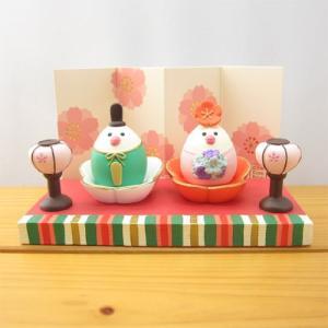 デコレ コンコンブル お花いっぱいひなまつり お花雛 文鳥セット 花びら台座・ぼんぼり・紙製屏風・親王台 DECOLE concombre ひな祭り 春 雛人形 節句|zakka-fleur