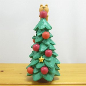 デコレ コンコンブル メリークリスマス コンブル アップルパーティ りすとりんごのツリー DECOLE concombre CHRISTMAS 雑貨 オブジェ 置物 インテリア|zakka-fleur