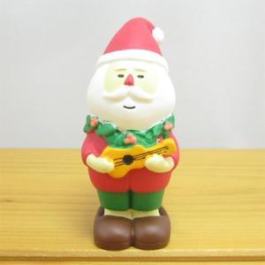 デコレ コンコンブル メリークリスマス コンブル アップルパーティ ウクレレサンタ  DECOLE concombre CHRISTMAS 雑貨 オブジェ置物 インテリア かわいい|zakka-fleur