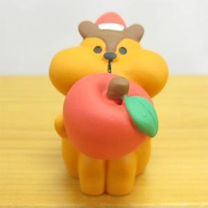 デコレ コンコンブル メリークリスマス コンブル アップルパーティ むしゃむしゃりんごりす  DECOLE concombre CHRISTMAS 雑貨 オブジェ置物 インテリア|zakka-fleur