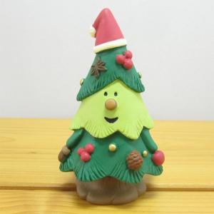 デコレ コンコンブル 森のクリスマス ウインターフォレスト 木の実ツリー DECOLE concombre Winter forest 雑貨 オブジェ かわいい クリスマスツリー|zakka-fleur