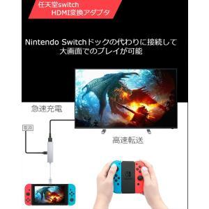 Nintendo Switch  Type-C to HDMI変換アダプタ ドックセット HDMI変...