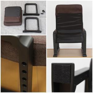 ポイント10倍  ヒーター付 高座椅子 リクライニング 高さ調節 高座椅子 座椅子 肘付き 肘掛け付|zakka-gu-plus|06