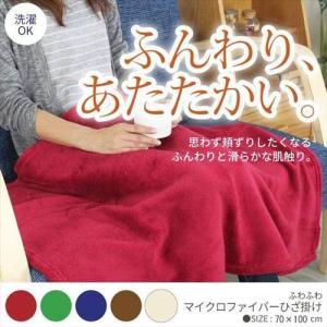 ブランケット おしゃれ マイクロファイバー 毛布 70cm×100cm 5色 zakka-gu-plus