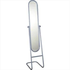 鏡 スタンドミラー 全身 全身鏡 おしゃれ 姿見 ミラー パイプスタンドミラー