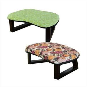 和座椅子 和柄 正座椅子 花柄 グリーン 正座 座椅子 正座椅子 椅子 収納 コンパクト 小型 ミニ 腰痛|zakka-gu-plus