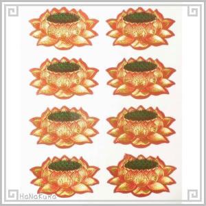 紅蓮 シール 3.6cm 8枚セット zakka-hanakura