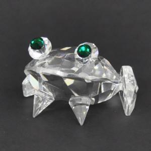 オブジェ 置物 クリスタルガラス カエル/CSL0110|zakka-littlemama