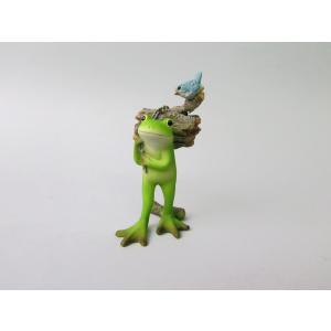 置物 Frog 収穫 カエル EDC1330 リトルママ|zakka-littlemama