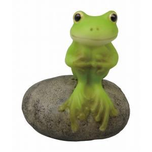 置物 レジン製Frog ひと休み 2個単位販売 リトルママ|zakka-littlemama