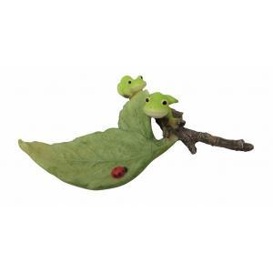 置物 レジン製Frog 冒険 リトルママ|zakka-littlemama