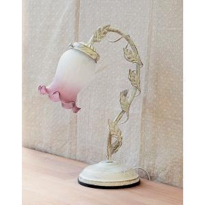ホワイトランプ 1灯 ムスカリ|zakka-littlemama