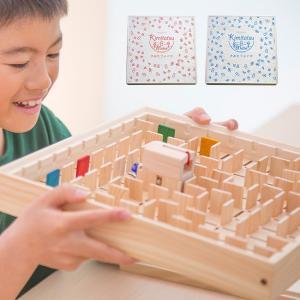 自分だけの迷路を作る木製の玩具です。 180ヶ所の穴に仕切り板をはめ込み、 自由に迷路をつくることが...