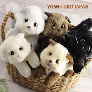 猫のぬいぐるみ 日本製(猫 ぬいぐるみ リアル かわいい ねこ ネコ 猫雑貨) 即納 zakka-nekoya