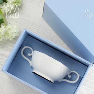 即納 レアーレ Reale スープカップ ポタジェ 白(離乳食 食器 おしゃれ かわいい ベビー食器...