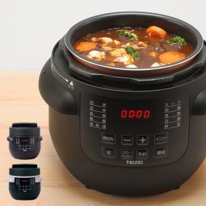 TAISHI 電気圧力鍋 マイコン式 2.8L(電気 圧力鍋 圧力 鍋 なべ マイコン式電気圧力鍋 マイコン式炊飯器 圧力調理) 1-2W|zakka-nekoya