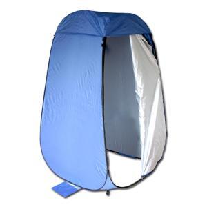キャンプ用や非常用や簡易トイレなどにおすすめなテント ワンタッチで簡単に完成する 一人用の軽量でコン...