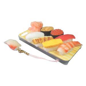 日本職人が作る  食品サンプルiPhone5ケース ミニチュア寿司  ストラップ付き  IP-211 |zakka-noble-beauty