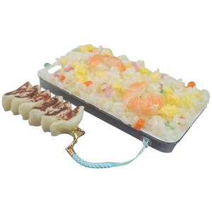 日本職人が作る  食品サンプルiPhone5ケース 焼きめし  ストラップ付き  IP-223 |zakka-noble-beauty