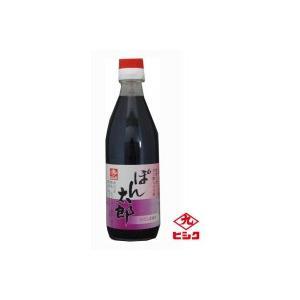 ヒシク藤安醸造 ぽん太郎 360ml×6本 甘口タイプ ポン酢しょうゆ レモン果汁 zakka-noble-beauty