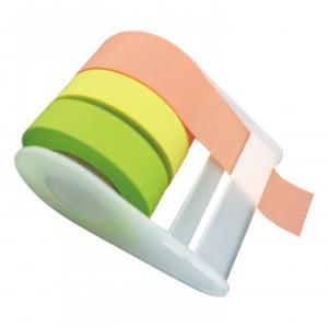 メモメモテープ 貼ってはがせる 付箋・マスキングテープ代わりに 全面粘着テープ|zakka-noble-beauty