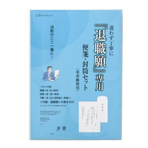 退職願専用 便箋・封筒セット 10セット タイ-1 |zakka-noble-beauty