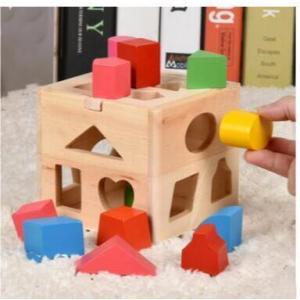 木のおもちゃ 知育玩具 木製 パズルボックス はめ込み 型はめ おしゃれ プレゼント 男の子 女の子|zakka-noble-beauty