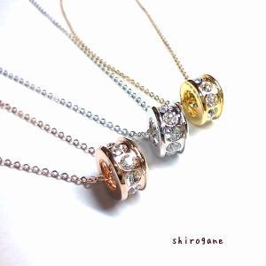 送料無料 日本製 スワロフスキー リングペンダント(大) 3色|zakka-noble-beauty