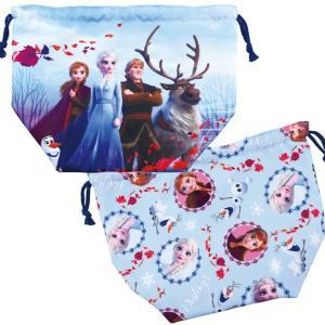 ディズニー アナと雪の女王2 ランチ巾着 15180 巾着弁当袋 お弁当入れ 弁当箱 ランチ ランチグッズ プリンセス|zakka-off