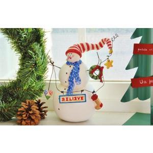 スノーマンはクリスマスが終わっても 翌年2月末まで飾って楽しめます。  サイズ(ディスプレイスペース...