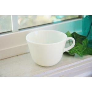 アンティーク雑貨 Old PYREX オールドパイレックス ホワイトカップ