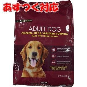 ドッグフード 大容量 成犬用 ドライ チキン ライス ベジタブル 12kg コストコ カークランドシグネチャー