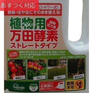 大容量 植物活力剤 シャワータイプ 野菜、花にそのまま使える 植物用万田酵素
