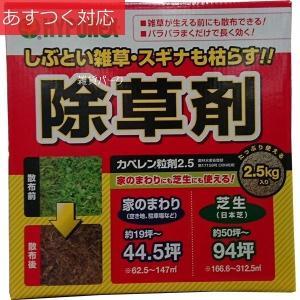 カペレン粒剤除草剤 2.5kg ハイポネックス