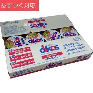 【冷蔵発送】ダノン オイコス ストロベリー 110g x 12