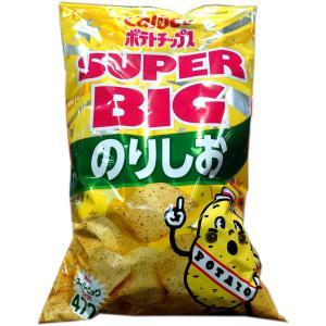 ポテトチップス 大袋 カルビー ポテトチップス スーパービッグ SUPER BIG のり塩味 500...