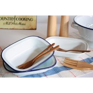 使っていく程に愛着がわく琺瑯キッチン雑貨シリーズ、かわいい皿(ブルー)です。 この琺瑯は、光沢感があ...