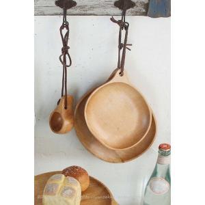 木製 食器 プレート皿 白樺 ラウンド S