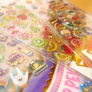 DROP PEKO SHARP キャンディのようなシール6点セット 05640-5/ドロップシール|zakka-pumpkin|02