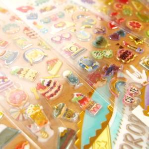 DROP PEKO SHARP キャンディのようなシール6点セット 05640-5/ドロップシール|zakka-pumpkin|03