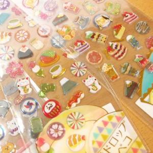 DROP PEKO SHARP キャンディのようなシール6点セット 05640-5/ドロップシール|zakka-pumpkin|04