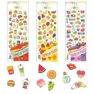 DROP PEKO SHARP キャンディのようなシール6点セット 05640-5/ドロップシール|zakka-pumpkin|05