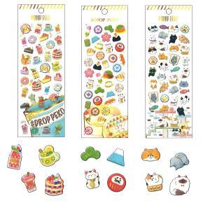 DROP PEKO SHARP キャンディのようなシール6点セット 05640-5/ドロップシール|zakka-pumpkin|06