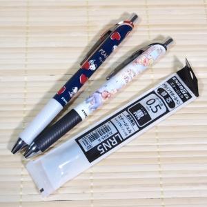 書きやすさバツグン エナージェルボールペン2本&替え芯付きセット(スヌーピー&くまのプーさん/0.5...