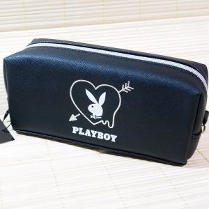 トレンド PLAYBOYのBOX型ペンケースです   ◆サイズ:約H80×W185×D60mm  ◆...